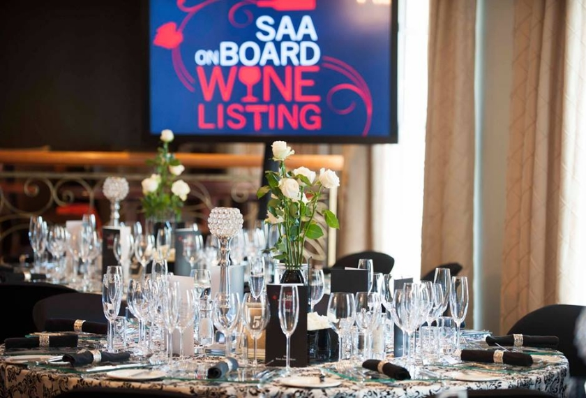 Award received for our Imbuko 2015 Chardonnay to be served in all SAA Premier lounges.